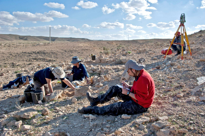 Excavación arqueológica Nahal Efe