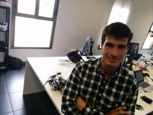 Carlos Uraga, socio director de Erle Robotics