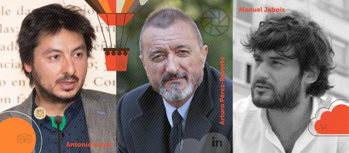 Antonio Lucas, Perez-Reverte y Manuel Jabois