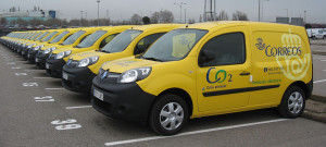 Correos vehículos sostenibles
