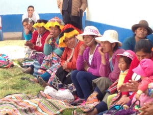 Habitantes de las zonas rurales del Perú