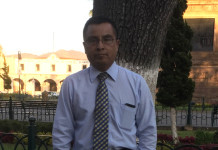 Alejandro Ahuja Anaya, profesor de la Universidad Michoacana de San Nicolás de Hidalgo (México)