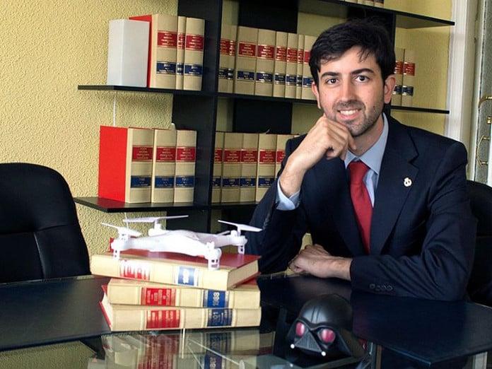 Pablo Fernández Burgueño, cofundador deAbanlex (fotografía de José Carlos Pedrouzo)