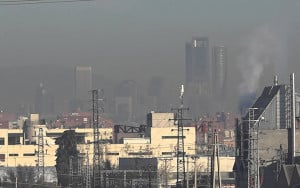 Madrid contaminación