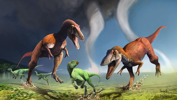Gualicho dinosaurio Jorge González y Pablo Lara
