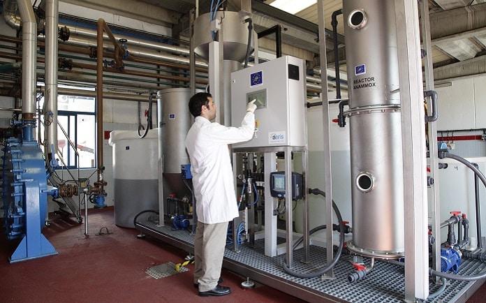 una planta experimental de depuracion de aguas energeticamente sostenible