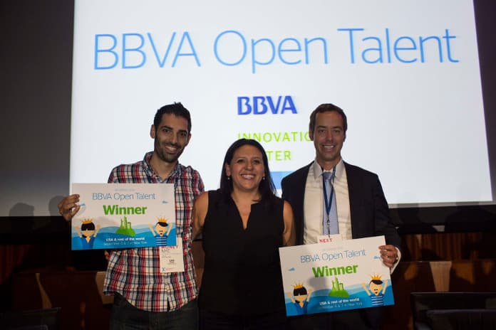 BBVA Open Talent,Cambridge Blockchain, Precognitive,