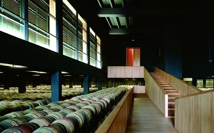 Interior de Bodegas Campo Viejo en La Rioja