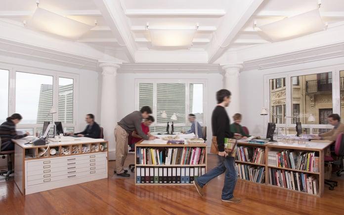 Estudio Ignacio Quemada Arquitectos. foto Álex Iturralde