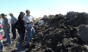 Sensor del INTA para medir la temperatura y humedad en la producción de compost
