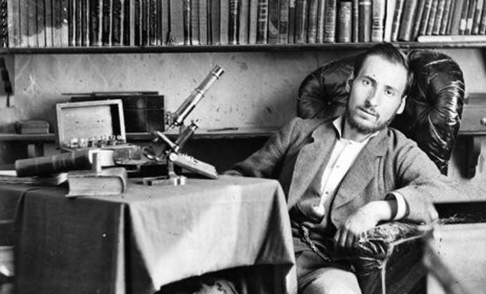 Autorretrato de Cajal cuando tenía treinta años. / Foto del Instituto Cajal del CSIC, Madrid, © 2017 CSIC