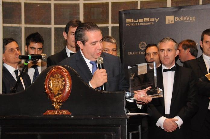 El ministro de Turismo de la República Dominicana, Personalidad Turística de Las Américas 2016