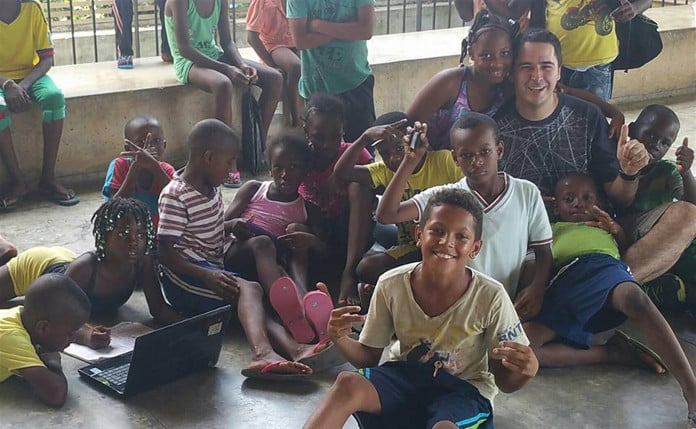 Felipe Betancur, creador de la Fundación Todos Podemos Ayudar y Under35 de Colombia