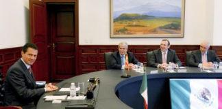 Encuentro entre el presidente de México, Peña Nieto, y el ministro español Alfonso Dastis (Foto de www.gob.mx)