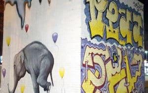 Unión Fenosa Ciudad Real grafiti