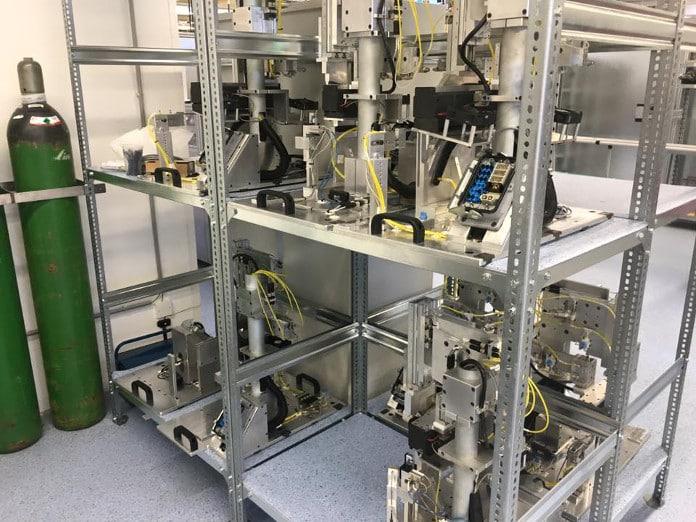 Instalaciones de la empresa mexicana Maquinados y Tecnología (MyT)