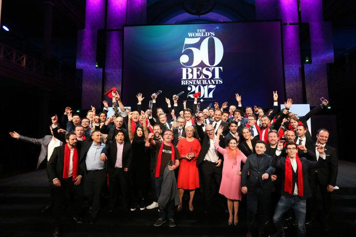 Foto de familia de los chefs de The World's 50 Best 2017