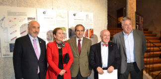 Inauguración de la Bienal de Arquitectura Latinoamericana, en Navarra
