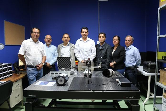 Laboratorio de Espectroscopia de Fourier del Instituto Nacional de Astrofísica, Óptica y Electrónica (INAOE)