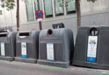 contenedores residuos urbanos