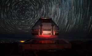 Observatorio Gemini Norte en Mauna Kea (Hawái). Foto: Gentileza Gemini Observatory.