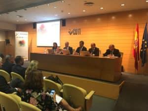 Reunión del comité organizador del Foro Transfiere en Madrid