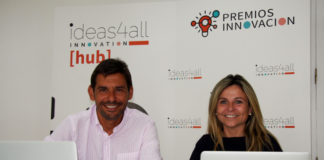 Fermín Ezquer-Matallana, Global ManagingDirector de ThinkCreative, y Pilar Roch, CEO de ideas4all Innovation