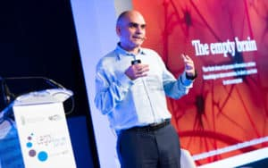 El CEO de BigML, Francisco J. Martin (Foto de Legal Management Forum)