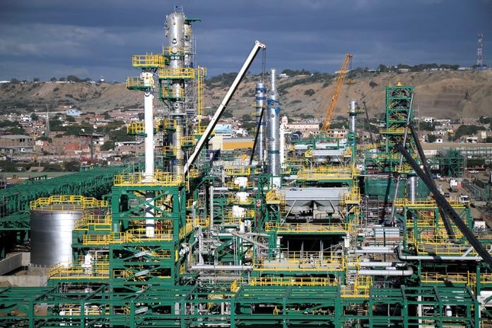 Refinería de Talara, en Perú (Foto de Petroperú)