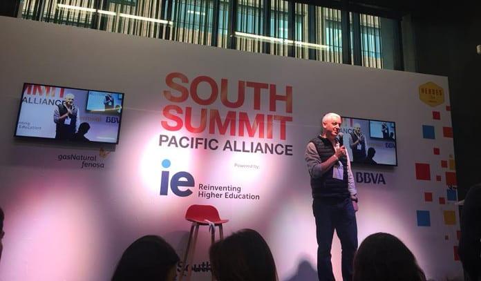 Uno de los pitch ante inversores celebrado en el marco del South Summit-Alianza del Pacífico