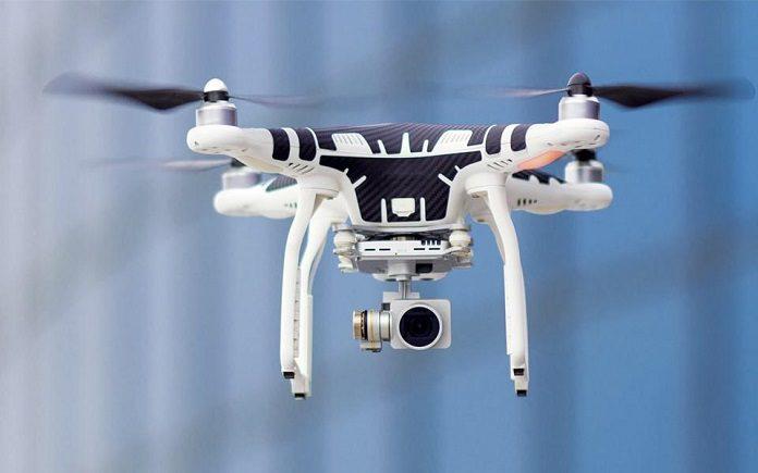 drones y vias ferreas