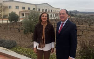 Carmen Vela y Carlos Moro el pasado martes