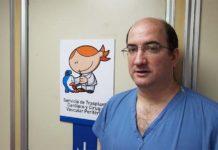 Ignacio Berra, cirujano argentino del Hospital de Pediatría Juan P. Garrahan