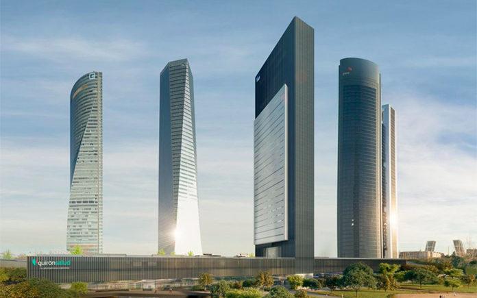 Caleido quinto rascacielos Castellana OHL