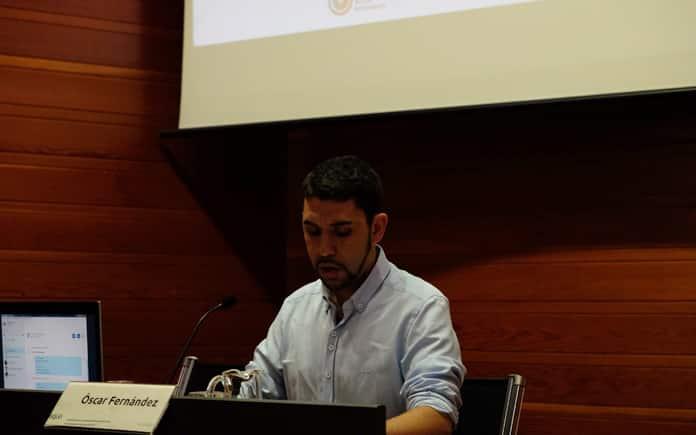 Óscar Fernández, miembro de Equo y concejal de Vitoria-Gasteiz.