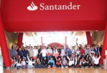 Los estudiantes participaron en espacios de networking durante el taller de AGM y Universia