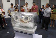 La incubadora portátil con un respirador artificial incorporado se ha denominado Incuven