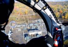 Revisión con helicóptero de instalaciones de distribución de Avangrid
