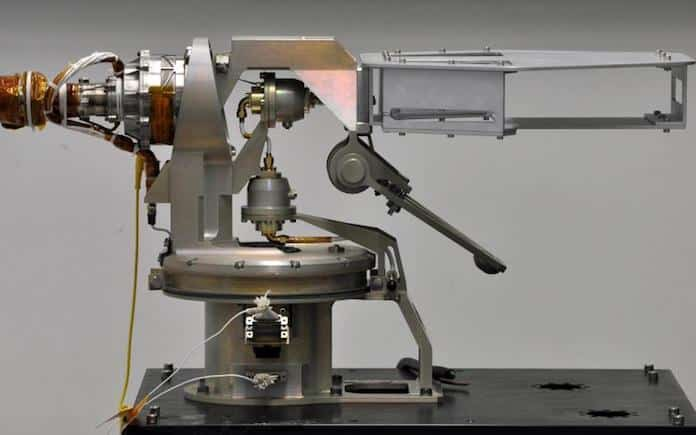 SENER, NASA, Marte, antena