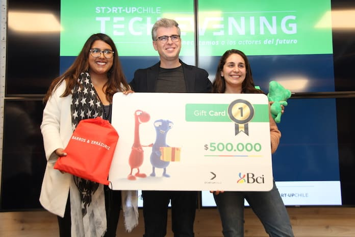 Cloudponics gana el cuarto Tech Evening de Start-Up Chile en este 2018