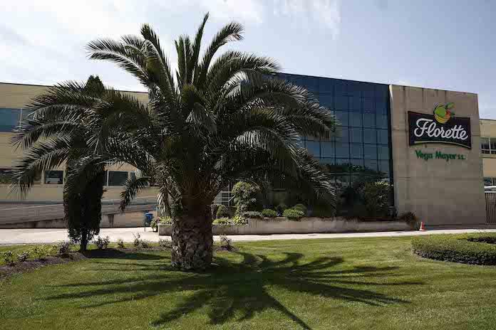 Centro de producción de Florette en Milagro (Navarra)