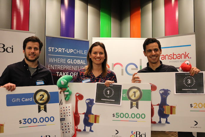 Ganadores del Tech Evening de Start-Up Chile sobre Energías Renovables