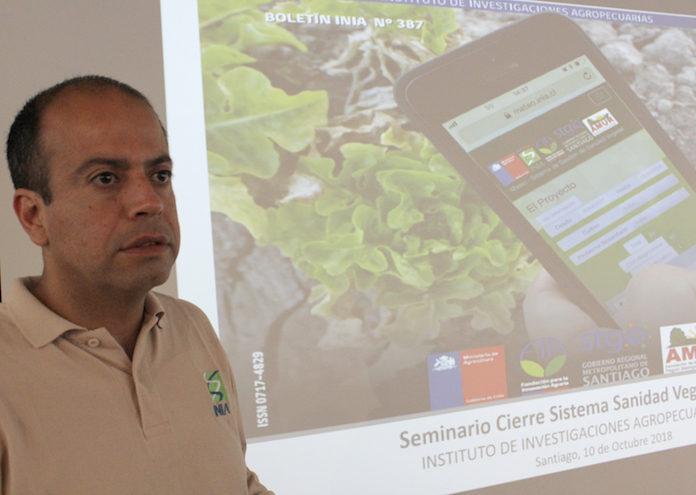 Paulo Godoy, subdirector proyecto, en la presentación de Mateo