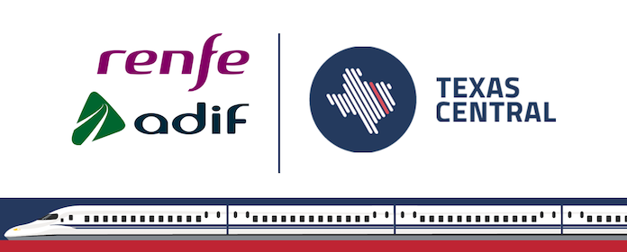 Renfe y Adif se adjudican el proyecto de Alta Velocidad para unir Houston y Dallas