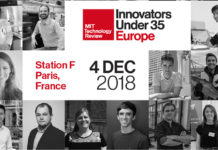 Innovators Under 35 Europe 2018