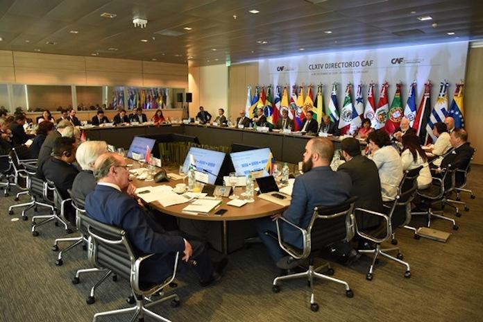 CLXIV reunión del Directoriode CAF, en Montevideo (Uruguay)