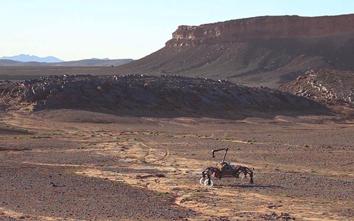 GMV pruebas roboticas Sahara