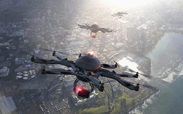 Safedrone drones ciudades
