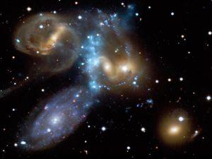 un tercio de los cúmulos de galaxias habían sido ignorados por los astrónomos