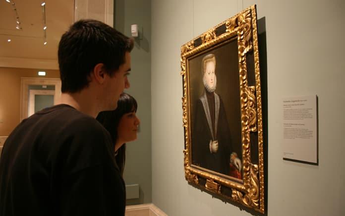 Museo del Prado Cartela Abierta